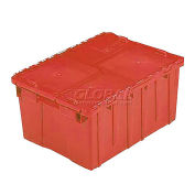 ORBIS FP143 Flipak Distribution Container - 21-7/8 x 15-3/16 x 9-15/16 Red