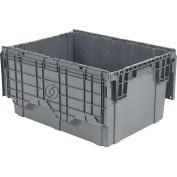 ORBIS Flipak Distribution Container, 27-7/8 x 20-5/8 x 15-5/16, Gray