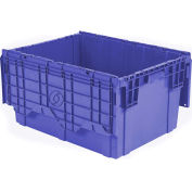 ORBIS Flipak Distribution Container, 27-7/8 x 20-5/8 x 15-5/16, Blue