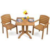 "Winston 32"" Square Outdoor Table - Teak"