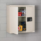 "SANDUSKY LEE Wall Cabinet with Digital Lock - 30x12x30"" - Putty"