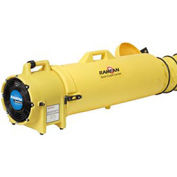 """Euramco Safety ED9025 8"""" Confined Space Blower - Canister and 25' Duct for 12V Blower 1/3 HP 862 CFM"""