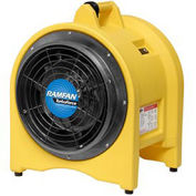 "Euramco Safety EJ4002 12"" Confined Space High Volume Blower/Exhauster 5/8 HP 2420 CFM"