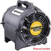 "Euramco Safety EF7002 8"" Intrinsically Safe Blower 1/3 HP 980 CFM"