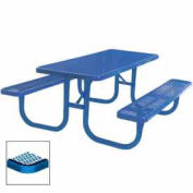 "Extra Heavy Duty Table, Diamond 72""W x 70""D, Blue"