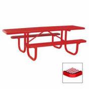 "8' Extra Heavy Duty ADA Table, Diamond, 96""W x 70""D, Red"