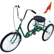 Industrial Tricycle, 3 Speed, Coaster Brake, Green