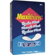 Hospeco Maxithins #4 Full Protection Sanitary Napkins Individually Boxed, 250/Case