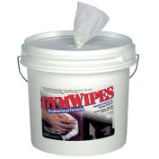 Gymwipes Antibacterial Towelettes Unscented, 700 Wipes/Bucket 2/Case