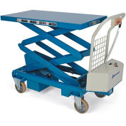 "BISHAMON MobiLift Electric Scissors Lift Tables - 660-Lb. Capacity - 17.5 - 63.8"" Lift Height"