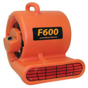 Boss Cleaning Equipment Blower Fan 3-Speed, 120v, Red