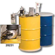Aerosolv 28231 Justrite  Dual Compliant Can Disposal System w/ Counter