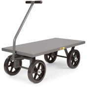"LITTLE GIANT Shop Wagons - 12"" Mold-On Rubber Wheels - 48""Wx30""D Deck"