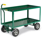 "LITTLE GIANT 2-Shelf Landscaping Cart - 48""Wx24""Dx32""H"