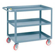 "LITTLE GIANT Welded Service Trucks - 36""Wx24""D Shelf - 3 Shelves"