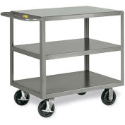 "LITTLE GIANT 3600-Lb. Capacity Shelf Trucks - 48""Wx30""D Shelf - 3 Shelves"