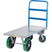 "LITTLE GIANT High-Capacity Platform Trucks - 72""Lx36""D Deck"