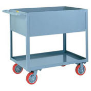 "Little Giant Deep Shelf Truck, 12"" Deep, 1200 Lb. Capacity, 36""L x 24""W x 36-1/2""H"