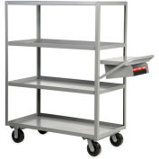 "LITTLE GIANT Stock-Picking Shelf Trucks - 60""Wx30""D Shelf - 3 Shelves"