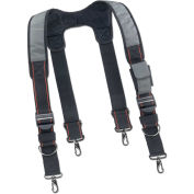 "Padded Tool Belt Suspenders, 4-1/2""L x 13""W x 3""H, Gray"