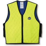 Chill-Its 6665 Evaporative Cooling Vest, Lime, Large