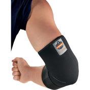 Proflex 655 Neoprene Elbow Sleeve with Strap, Black, Small