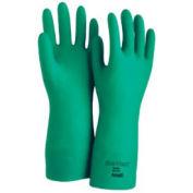 Sol-Vex Unsupported Nitrile Gloves, Green, Medium, 1 Pair - Pkg Qty 12