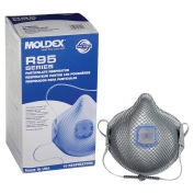 Moldex 2740R95 R95 Particulate Respirators with HandyStrap & Ventex Valve, 10/Box