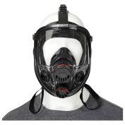 North® 760008A Silicone Full Facepiece Respirator, Medium/Large