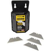 Heavy Duty Utility Blades W/ Dispenser (100 Pack)