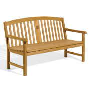 """Signature Series 60"""" Backed Bench with Arms"""