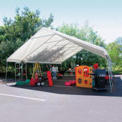 WeatherShield Giant Commercial Canopy, Gray, 24'W x 40'L