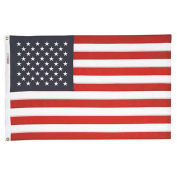 Tough-Tex US Flag with Sewn Stripes & Embroidered Stars, 12' x 18'