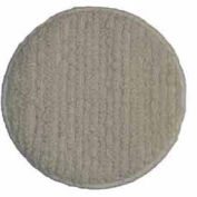 """Bissell® 17"""" Carpet Bonnet, White, Terry Cloth"""