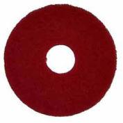 "Oreck® 12"" Polish Pad - Red, 5 Pads"