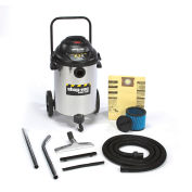 Shop-Vac® Wet Dry Vacuum, 15 Gallon Stainless Steel 6.5 Peak HP