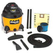 SHOP-VAC QSP Series Poly Wet/Dry Vac - 18-Gallon Capacity