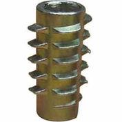 EZ Lok 801420-20, 1/4-20 Insert For Soft Wood, Flush - Pkg Qty 50