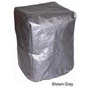 "7 oz. Black 5-Sided Polyethylene Machine Cover, 24""x24""x36"""