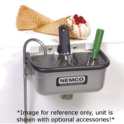 "Nemco Spadewell 10"" Ice Cream Dipper Station, Divider Sold Separately"