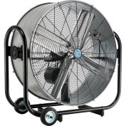 "36"" Portable Tilt Drum Blower Fan, Belt Drive"