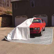 Indoor One-Size-Fits-All Car Pocket® White & Gray, 12'x24'x8'