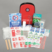 Auto Travel First Aid Kit, 88 Pieces