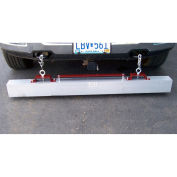 "36"" W Load Release Roadmag Magnetic Sweeper"
