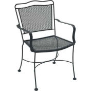 Veranda Outdoor Metal Chair With Arms