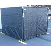 """Perimeter Patrol Windsreen Roll, 50' x 5' 8"""", Black"""