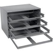 DURHAM Slide Cabinet - 20x15-3/4x14-1/2- 4-Drawer Cabinet