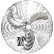 "Airmaster Fan 71726 30"" Wall or Ceiling Mount Fan Non-Oscillating 1/3HP 7200CFM"