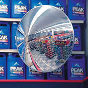 "Indoor/Outdoor Polycarbonate Convex Circular Mirror, 26"" Dia."