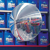 "Indoor/Outdoor Polycarbonate Convex Circular Mirror, 36"" Dia."